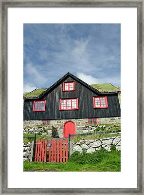 Kingdom Of Denmark, Faroe Islands (aka Framed Print by Cindy Miller Hopkins