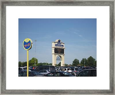Kings Island - 12121 Framed Print by DC Photographer