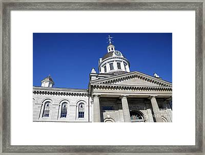 Kingston City Hall Framed Print by Charline Xia