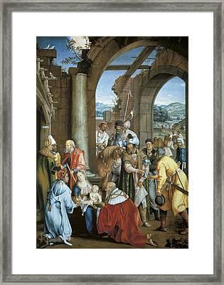 Kulmbach, Hans S�ss Von 1480-1522 Framed Print by Everett