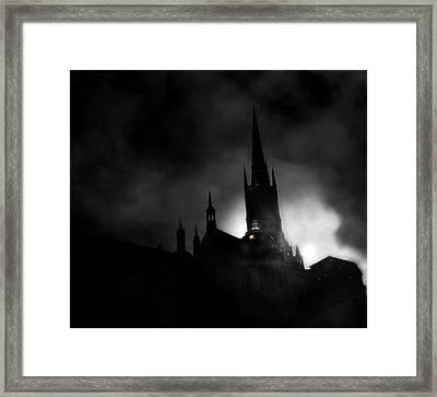 Kyrka Framed Print by David Fox
