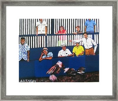 La Gallera Framed Print by Luis F Rodriguez