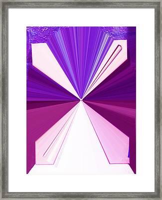 La Vie En Rose 17 Framed Print by Rozita Fogelman