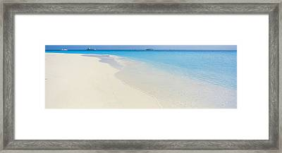 Laguna Maldives Framed Print by Panoramic Images