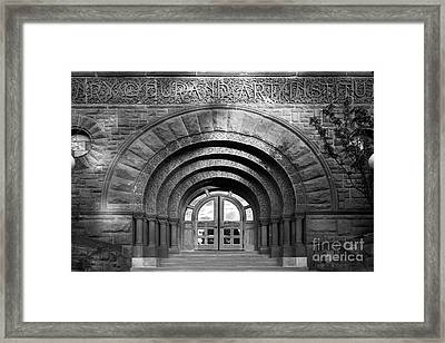 Lake Forest College Durand Art Institute Framed Print by University Icons