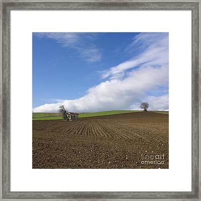 Landscape In France Framed Print by Bernard Jaubert
