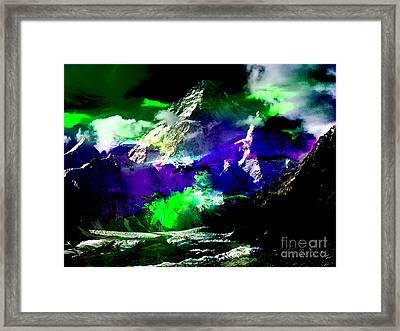 Freedom Framed Print by Marvin Blaine