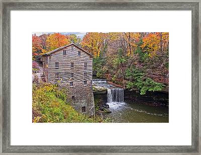 Lantermans Mill Framed Print by Marcia Colelli