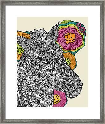 Larry Framed Print by Valentina Ramos