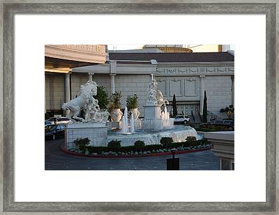 Las Vegas - Caesars Palace - 12123 Framed Print by DC Photographer