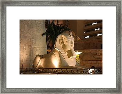 Las Vegas - Luxor Casino - 12125 Framed Print by DC Photographer
