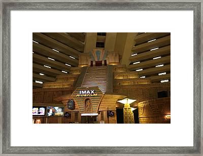 Las Vegas - Luxor Casino - 12126 Framed Print by DC Photographer