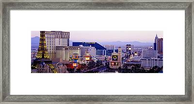 Las Vegas Nv Usa Framed Print by Panoramic Images