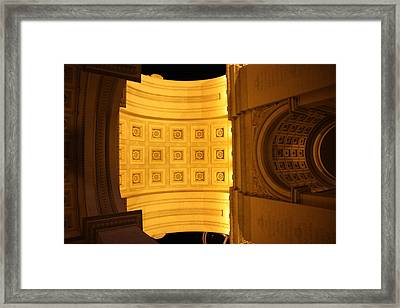 Las Vegas - Paris Casino - 121210 Framed Print by DC Photographer