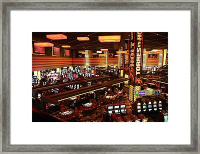 Las Vegas - Planet Hollywood Casino - 12122 Framed Print by DC Photographer