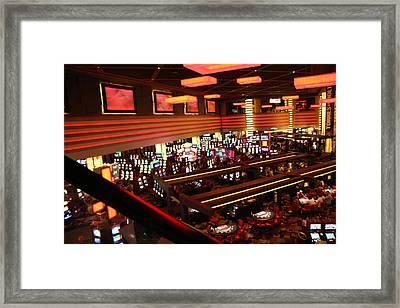 Las Vegas - Planet Hollywood Casino - 12123 Framed Print by DC Photographer