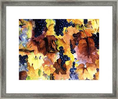 Late Harvest 3 Framed Print by Maria Hunt