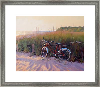 One For The Road Framed Print by Dianne Panarelli Miller