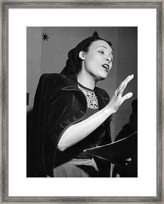 Lena Horne (1919-2010) Framed Print by Granger