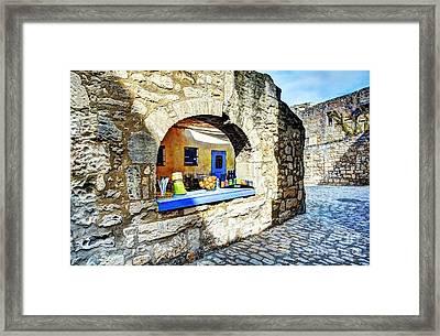 Les Baux De Provence 3 Framed Print by Mel Steinhauer