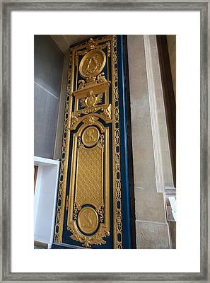 Les Invalides - Paris France - 01136 Framed Print by DC Photographer