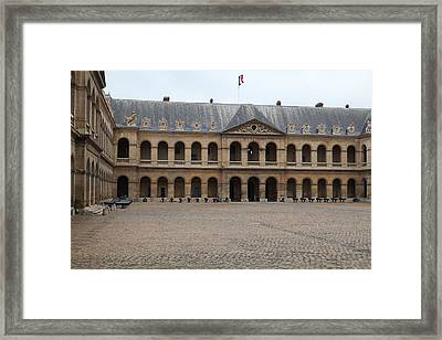 Les Invalides - Paris France - 01137 Framed Print by DC Photographer