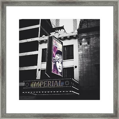 Les Miz Framed Print by Natasha Marco