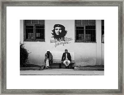 Life In Havana Framed Print by Mountain Dreams