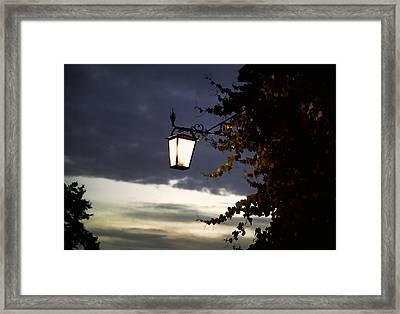 Light Framed Print by Joanna Madloch