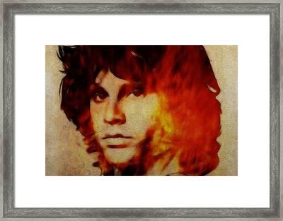 Light My Fire Framed Print by Stefan Kuhn