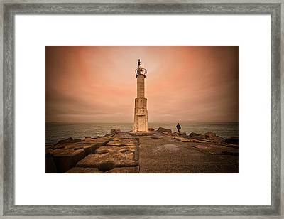 Lighthouse Framed Print by Okan YILMAZ