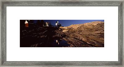 Lighthouse On The Coast, Pemaquid Point Framed Print by Panoramic Images