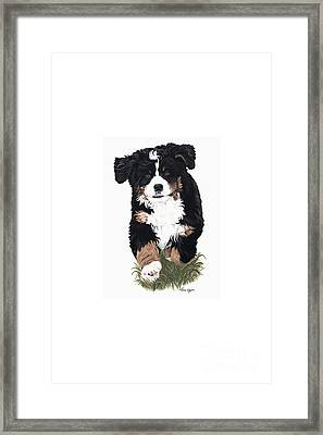Little Ms. Muffet Framed Print by Liane Weyers