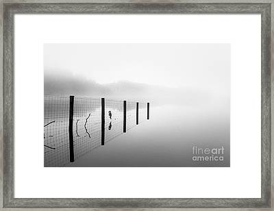 Loch Ard Early Mist Framed Print by John Farnan