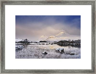 Lochan Na H-achlaise Framed Print by Rod McLean