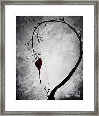 Lonely Heart Framed Print by Mike Grubb
