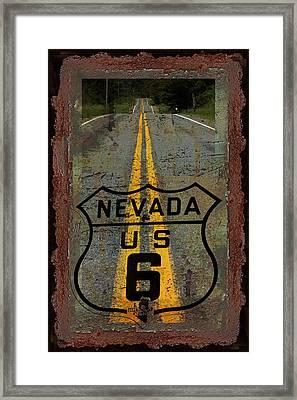 Lost Highway Framed Print by John Stephens