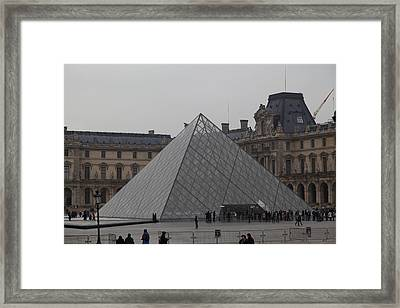 Louvre - Paris France - 01132 Framed Print by DC Photographer