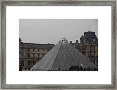 Louvre - Paris France - 01133 Framed Print by DC Photographer