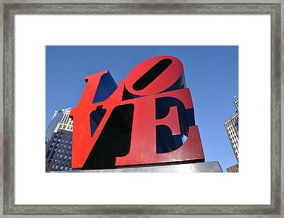 Love Framed Print by Bill Cannon
