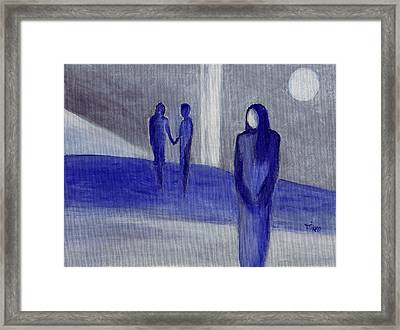 Love Leftover - Trio Framed Print by Mirko Gallery