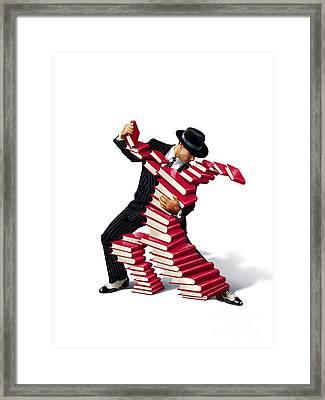Love Of Books, Conceptual Image Framed Print by Smetek