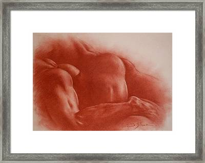 Love Story Framed Print by Guillaume Bruno