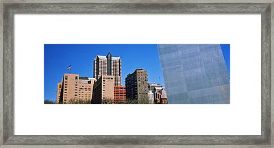 Low Angle View Of Buildings, Hyatt Framed Print by Panoramic Images