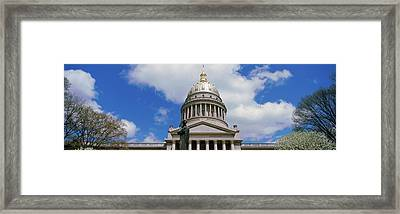 Low Angle View Of Government Building Framed Print by Panoramic Images