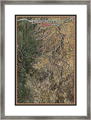 Lower Deschutes River Framed Print by Pete Chadwell