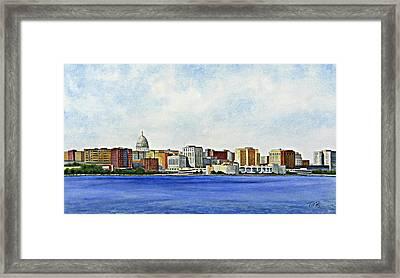 Madison Framed Print by Thomas Kuchenbecker