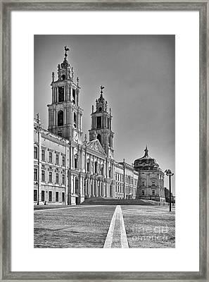 Mafra National Palace And Convent Framed Print by Jose Elias - Sofia Pereira