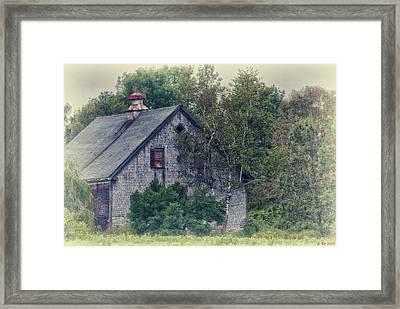 Maine Countryside Framed Print by Richard Bean