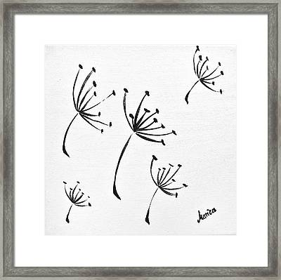 Make A Wish Framed Print by Marianna Mills